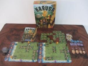 Karuba - Spielmaterial