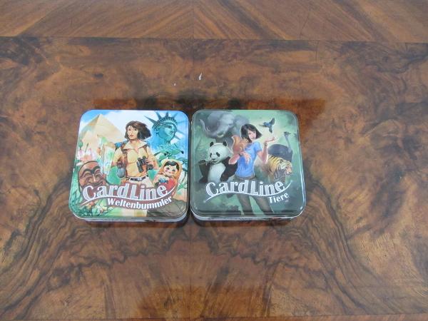 Cardline Tiere und Weltenbummler