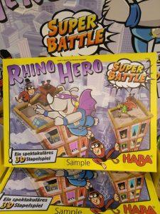 RHINO HERO-SUPER BATTLE